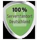 100% Serverstandort Deutschland